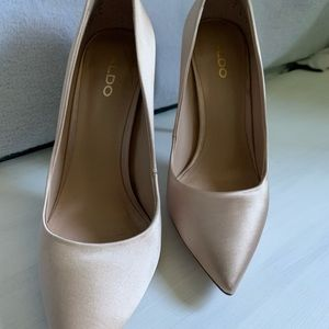 Aldo Shoes - Never Worn Aldo Satin Point Heels